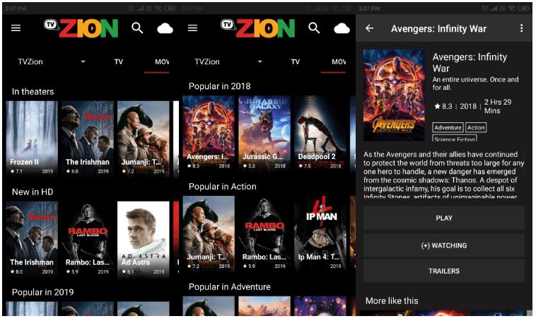 TVZion App