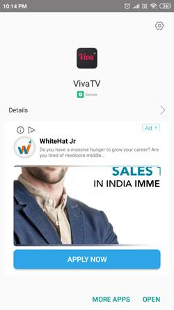 Install Viva TV on Android Smartphones