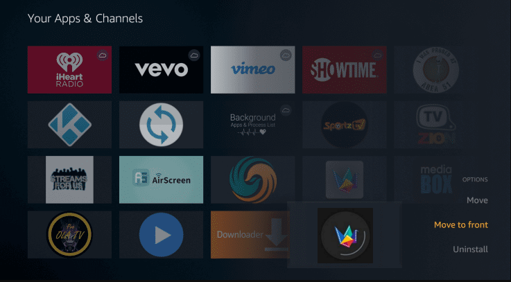 Install Fast Movies App on Firestick