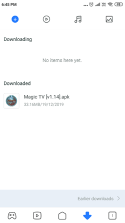 Install Magic TV App on Android Smartphones