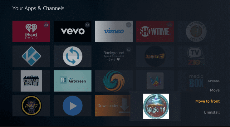 Install Magic TV App on Firestick