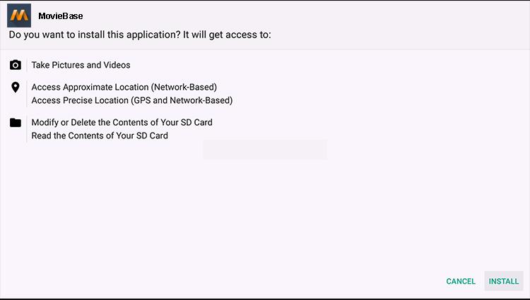 Install MovieBase on Firestick