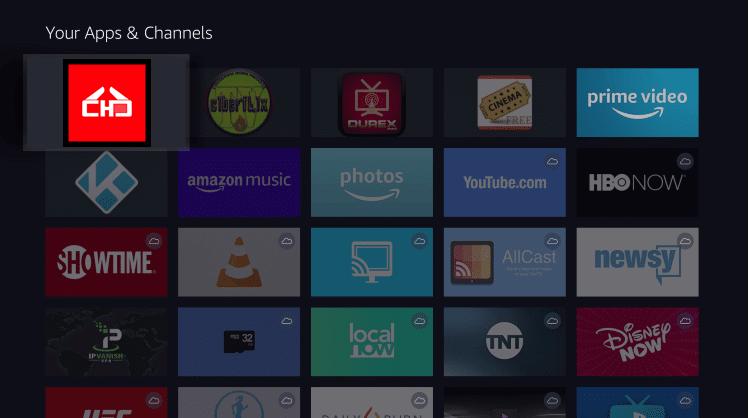 Install Cyrose HD App on Firestick