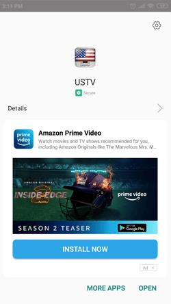 Install USTV App on Android Smartphones