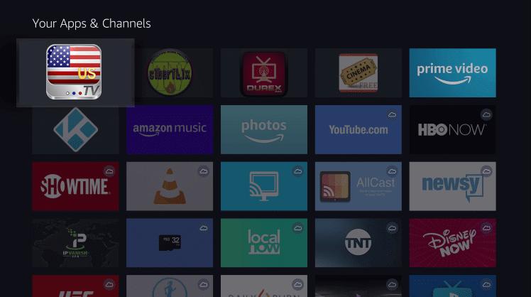 Install USTV App on Firestick