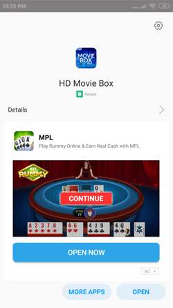 Install HD Movie Box App on Android Smartphones