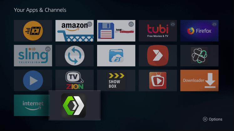 Install CineHub App on Firestick