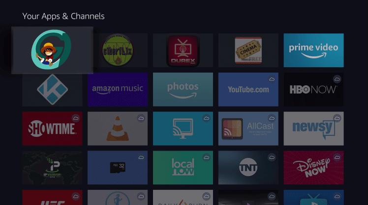 Install Gogoanime App on Firestick