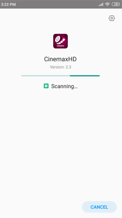 Install CinemaxHD APK on Android Smartphones