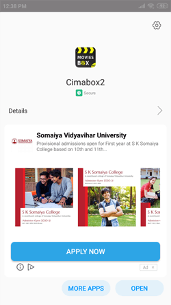 Install Cimabox APK on Android Smartphones