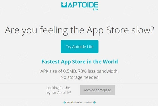 Download-Aptoide-Lite