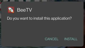 install beetv apk on android