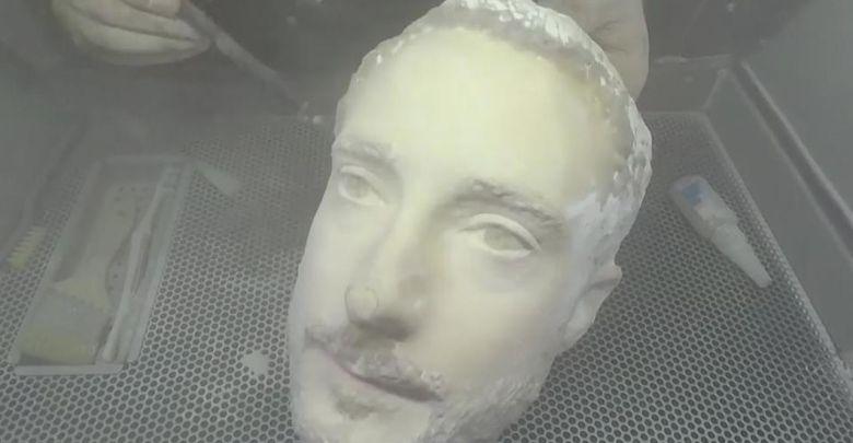 3d printed head