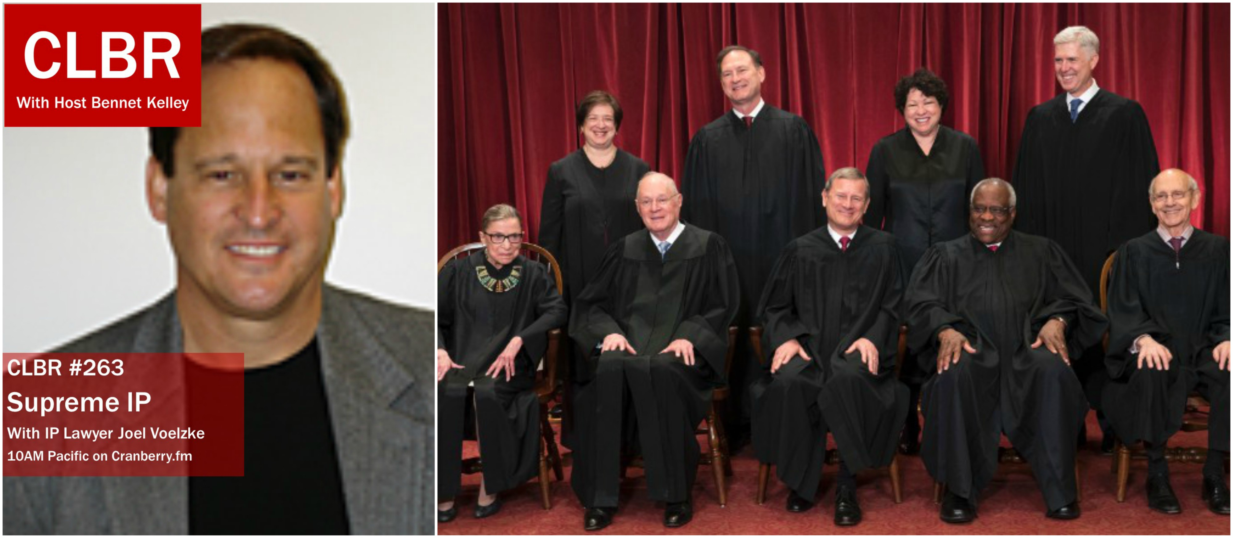 CLBR #263: Joel Voelzke on Supreme Court IP Cases