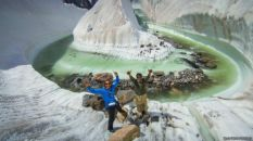 Glaciar Baltoro, Karakorum, Paquistán.