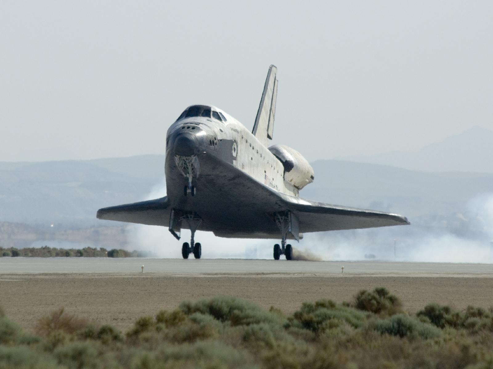 After almost 5.3-million-mile mission included five spacewalks to repair and upgrade the world-famous observatory, Atlantis and the crew of the STS-125 mission landed safely in California at Edwards Air Force Base after completing the Hubble Servicing Mission on Sunday, May 24, 2009.