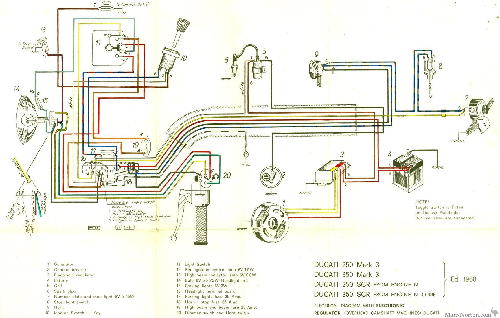 1968 Mercury Fuse Box Diagram 1968 Circuit Diagrams