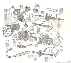 FavorBenelli 49cc Engine Diagram