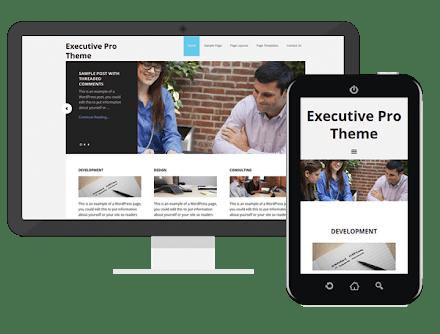 executive pro theme review