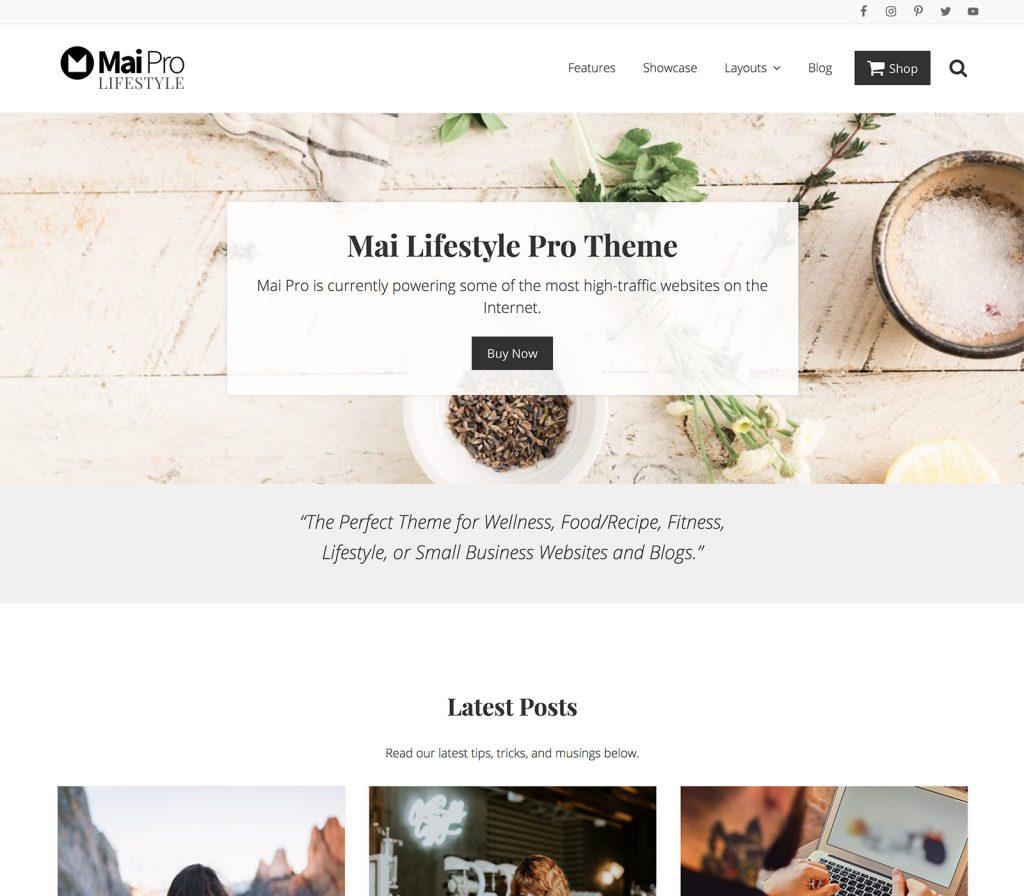 mai pro themes from studiopress