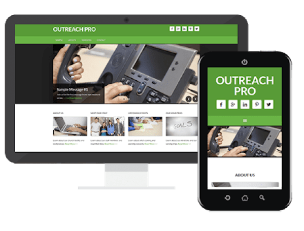 outreach pro theme review