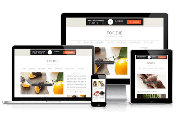 best wordpress theme for food blog - foodie pro theme review