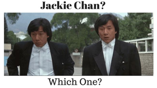 Jackie Chan twins