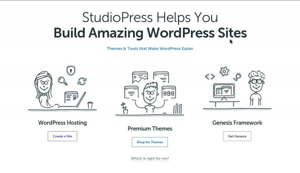 studiopress wordpress site builder