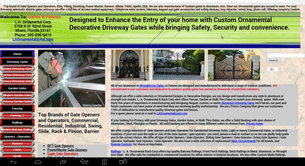 gatesnfences homepage image
