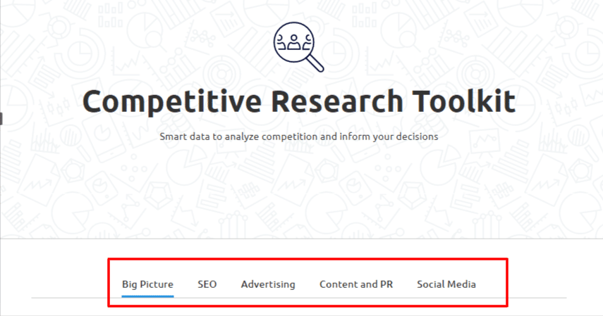 competitive research toolkits