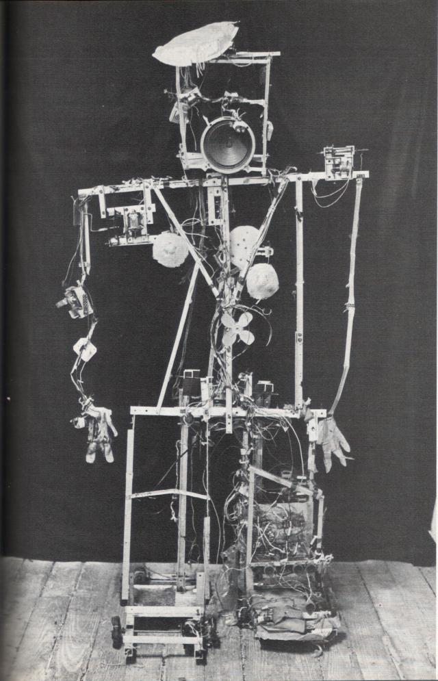 Image result for Nam June Paik and Shuya Abe's 'Robot K-456' (1964)
