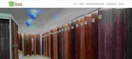 Web design of Door company