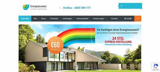 Website Design of Energieauweis