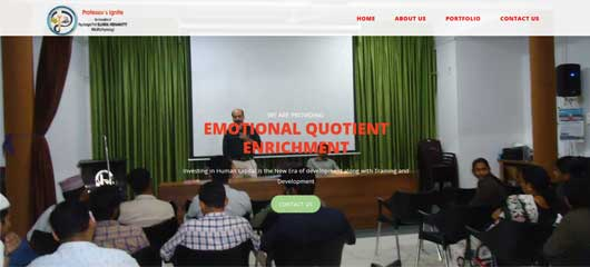 Website Design of psychologist firm