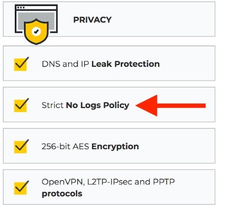 No-log VPN
