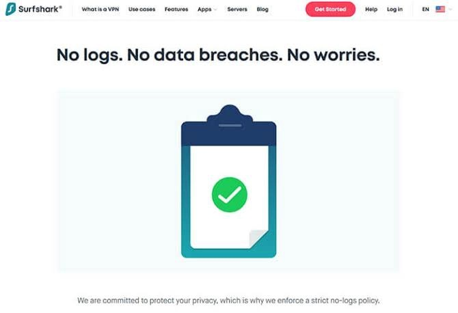 VPN No-log
