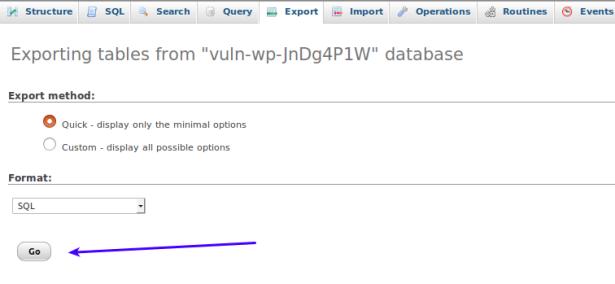 dump-database