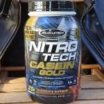 MuscleTech ナイトロテックカゼインゴールド(Nitro Tech Casein Gold)を飲み比べ&評価