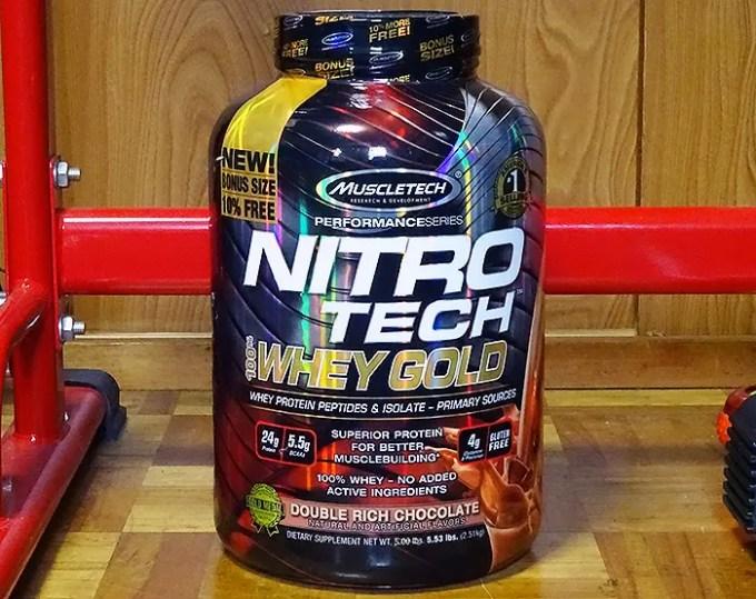 ナイトロテックホエイゴールド(Nitro Tech Whey Gold)を飲み比べ&評価