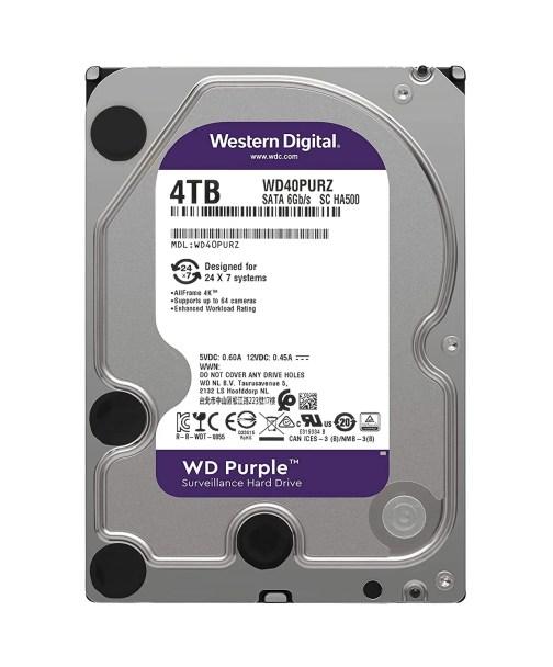 WD Purple 4tb Hard Disk Cyber Pro Bangalore