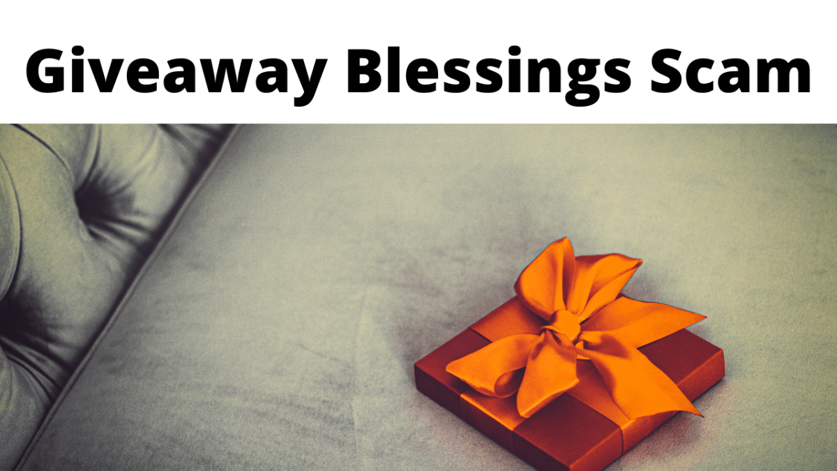 Giveaway Blessings Scam