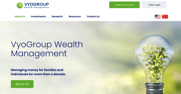 VyoGroup Wealth Management Review - 2021