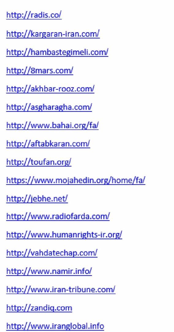 website targets