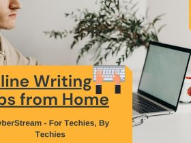 online writing jobs from home