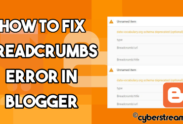How to Fix Breadcrumbs Error as data-vocabulary.org Schema Deprecated