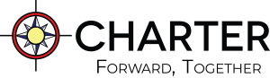 New Charter Logo with Forward, Together