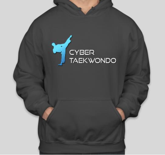 Cyber Taekwondo Hoodie w/Full Logo