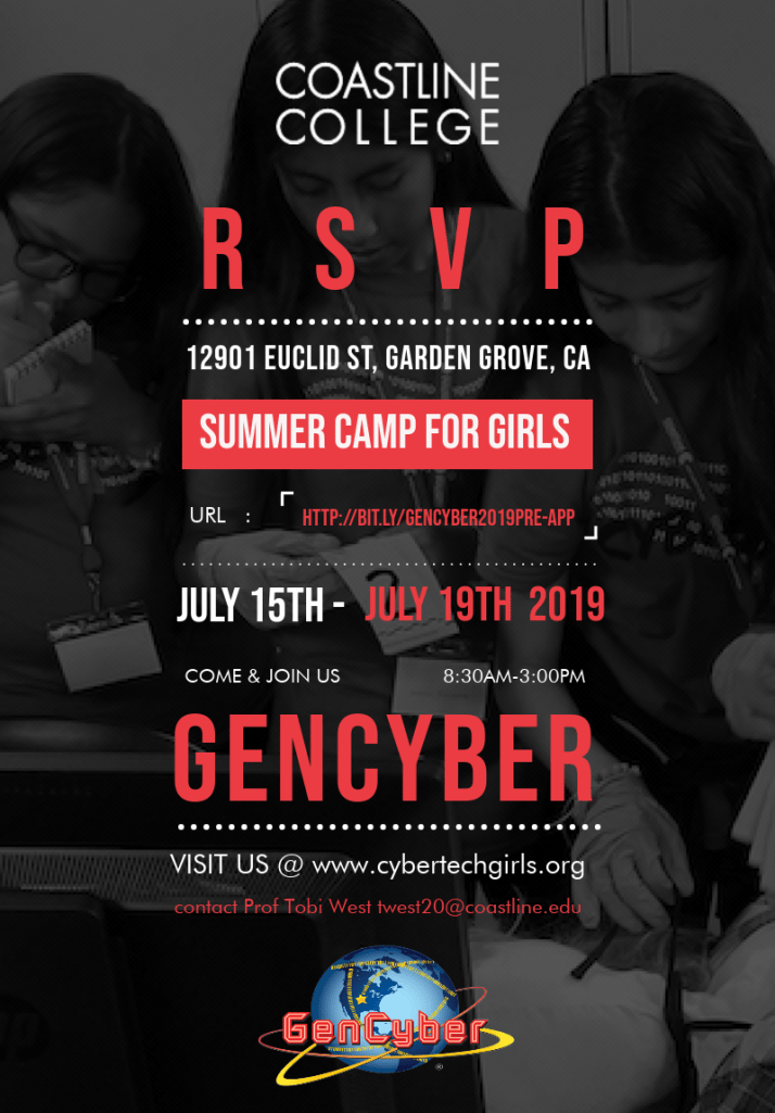 GenCyber and Summer Camp-2019. Png