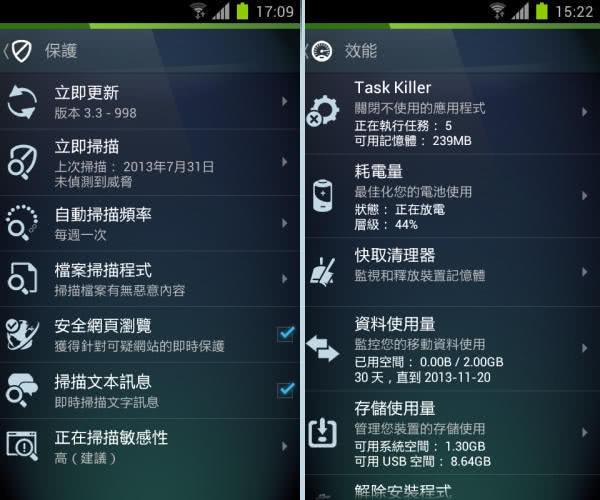 AVG Antivirus Free App