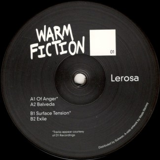 Warm fiction - Lerosa - vinilos de musica electronica
